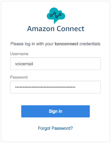 Creating a voicemail system with Amazon Connect 1/3 - KZN Group